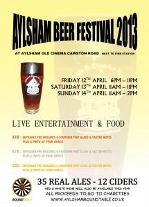 Aylsham Beer Festival 2013