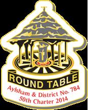 Aylsham Round Table 50th Charter Badge