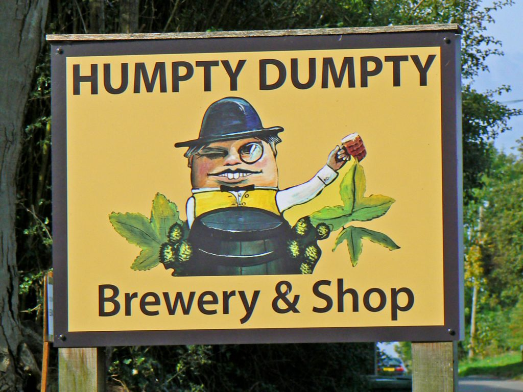 ReedhamHumptySign