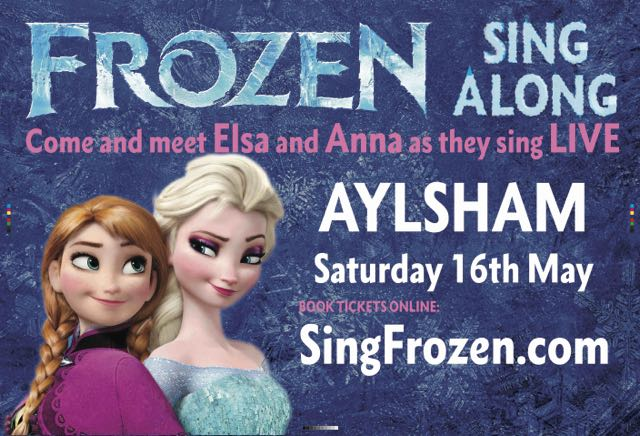 Frozen Sing Along - Aylsham less